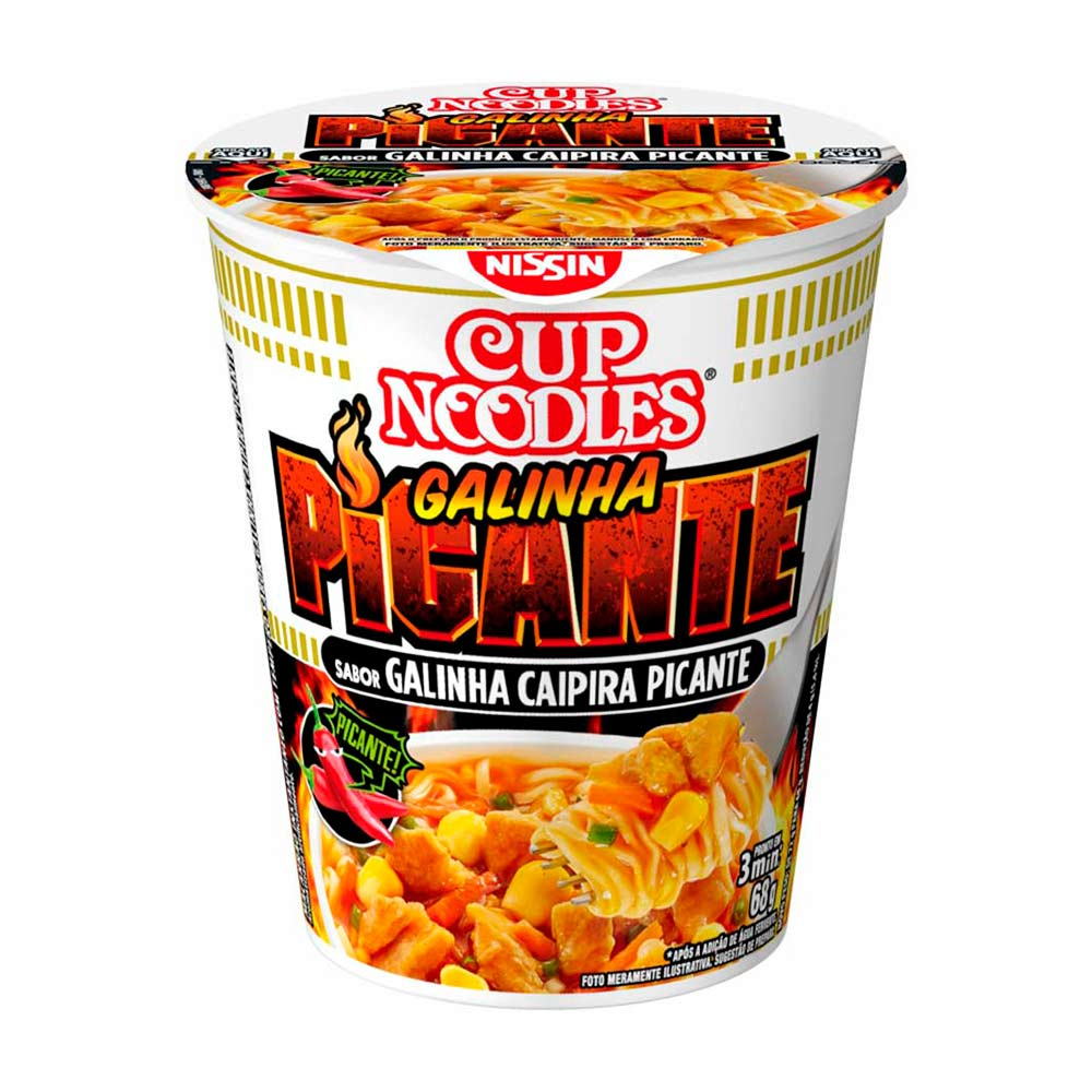 CUP NOODLES GAL/CAIPIRA PICANT 68GRCX/24