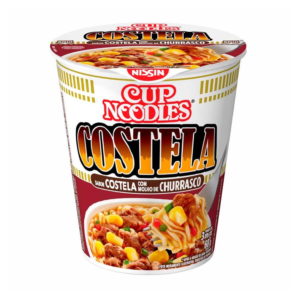 CUP NOODLES COST/MOLHO CHURAS 68GR CX/24