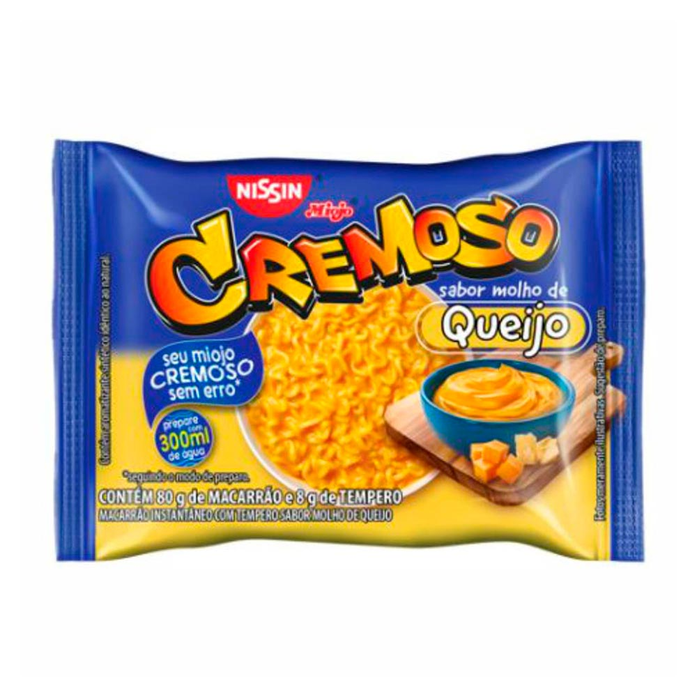 LAMEN CREMOSO MOLHO QUEIJO 88 GR CX C/50