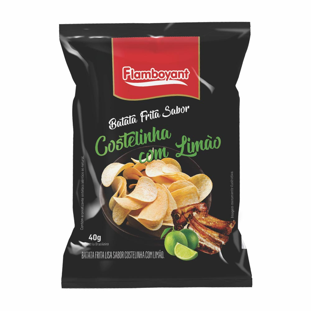 FLAMB BATATA LISA COSTEL/LIMAO 40GR CX24