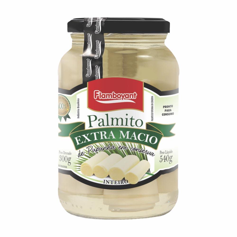 FLAMB PALMITO PUPUNHA INTEIRO 300GRCX/15