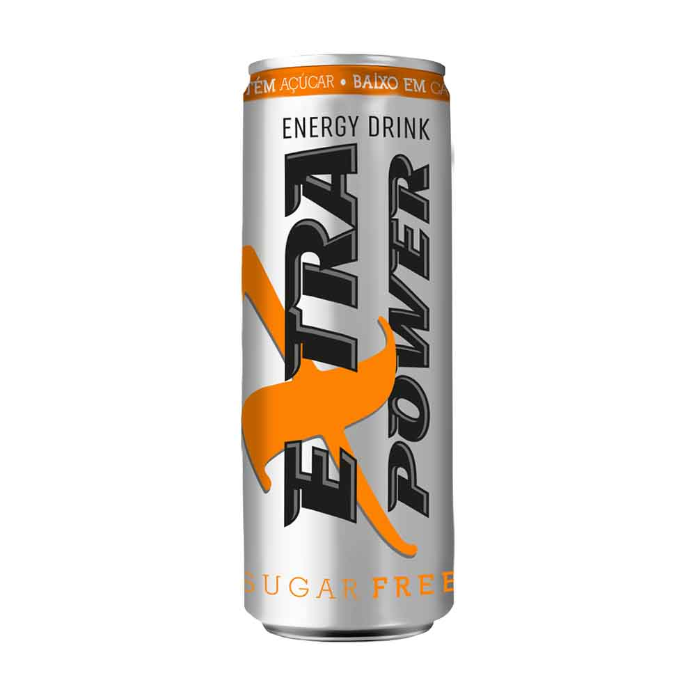 EXTRA POWER ENER SUGAR FREE LT 270ML C24