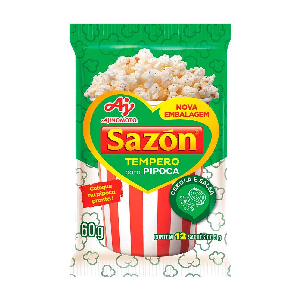SAZON PIPOCA CEBOLA E SALSA 60GR CX/48