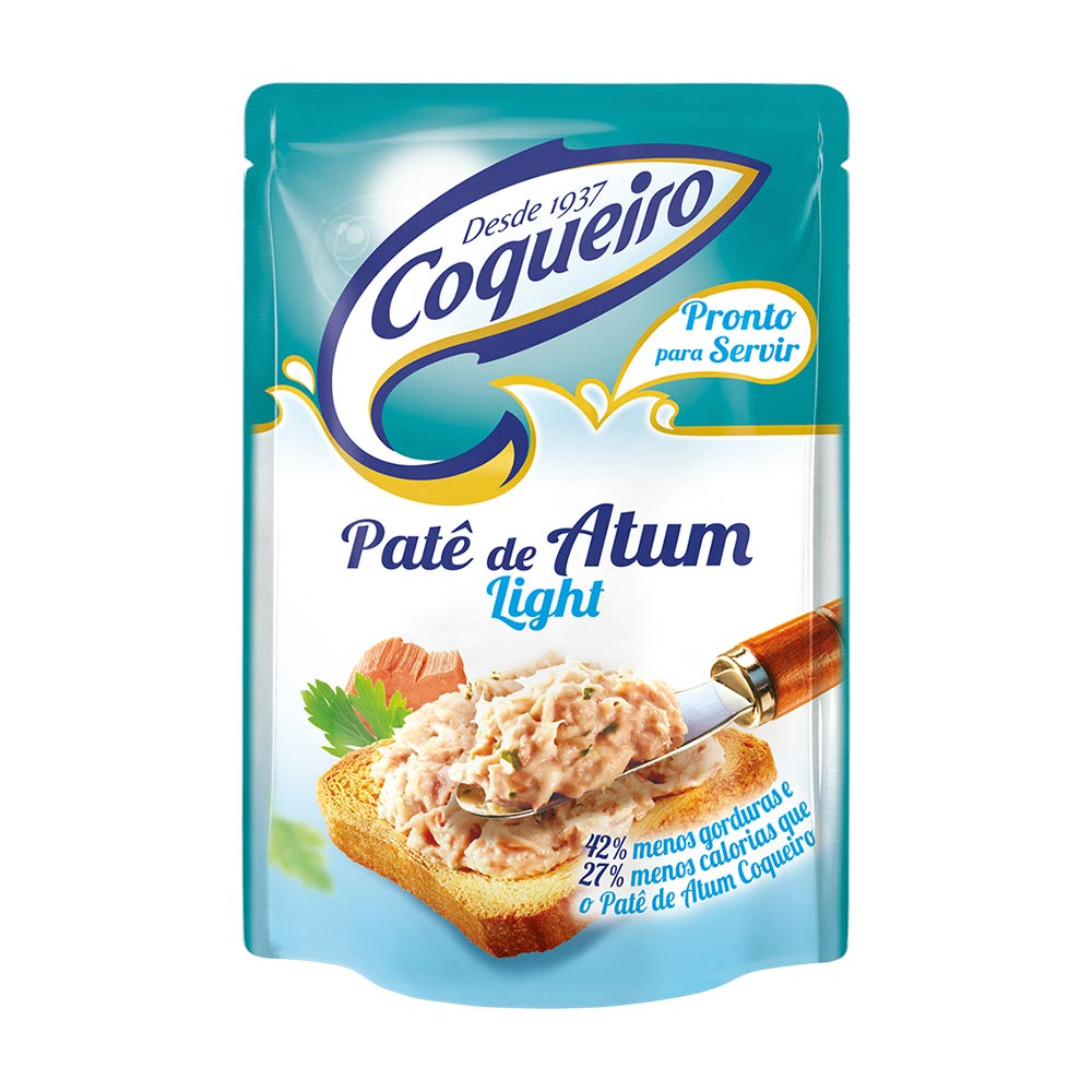COQUEIRO PATE DE ATUM LIGHT 170GR CX/24