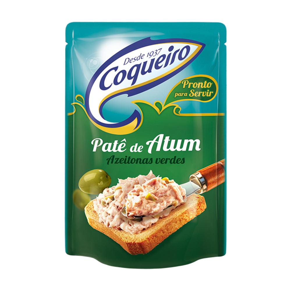 COQUEIRO PATE DE ATUM AZEITON 170GRCX/24