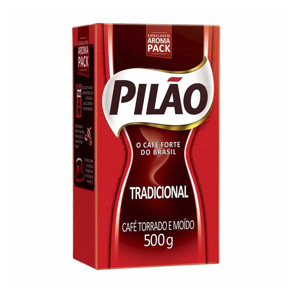 CAFE PILAO A VACUO 500GR CX/20