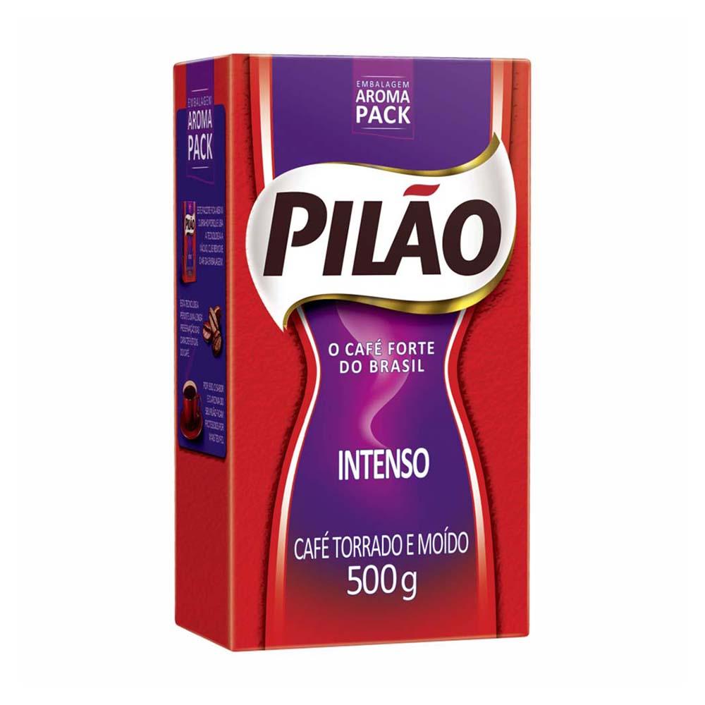 CAFE PILAO A VACUO INTENSO 500GR CX/20