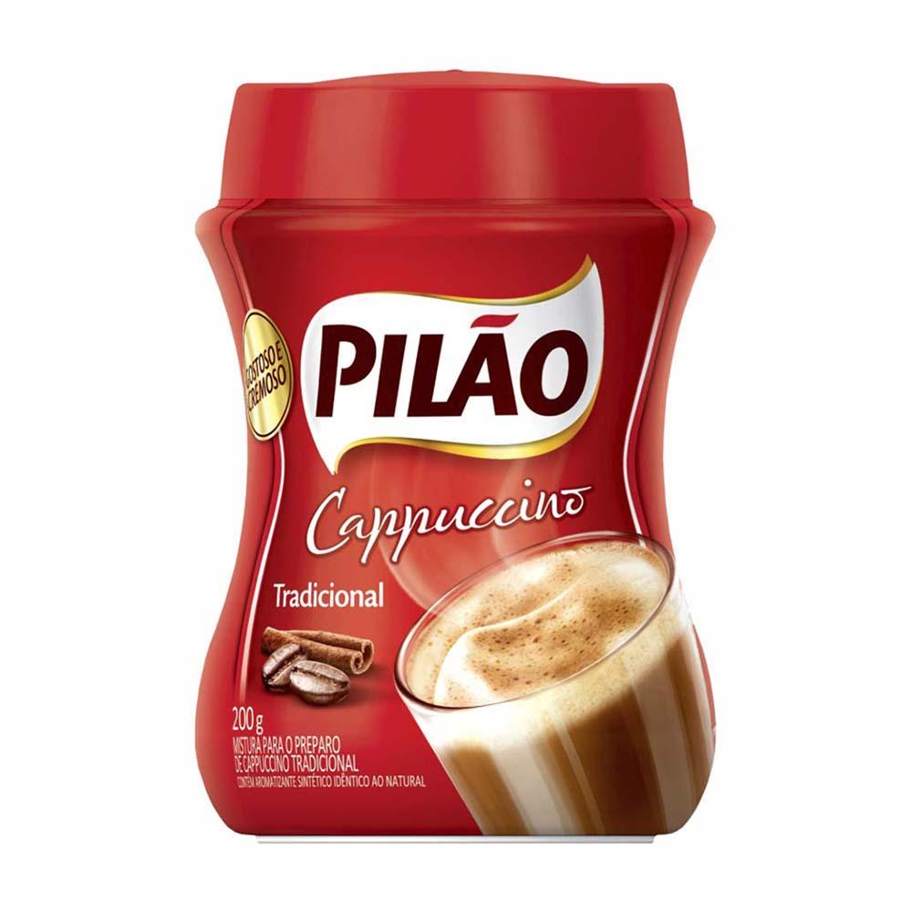 CAFE PILAO CAPPUCCINO TRAD. 200GR CX12
