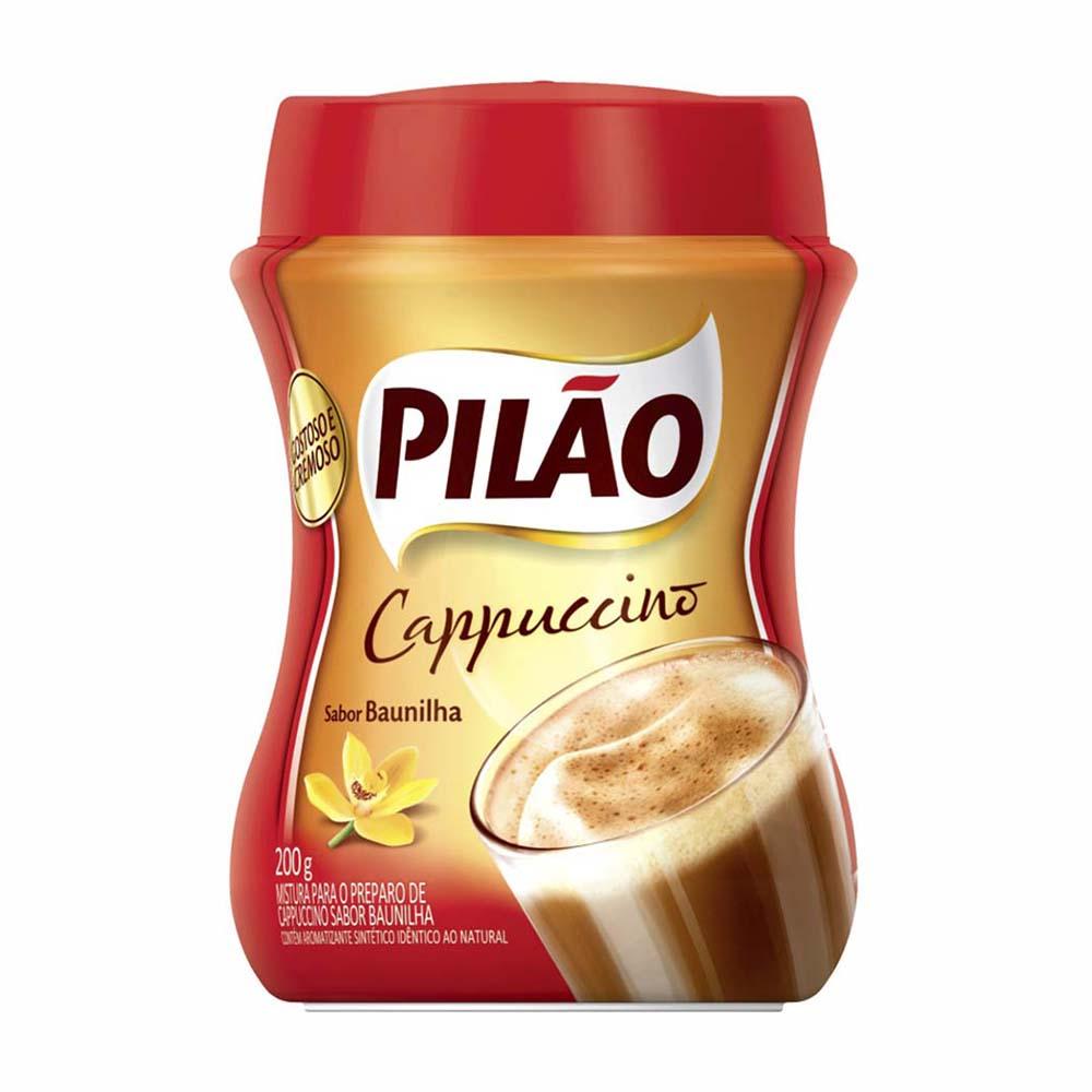 CAFE PILAO CAPPUCCINO BAUNILHA 200GRCX12
