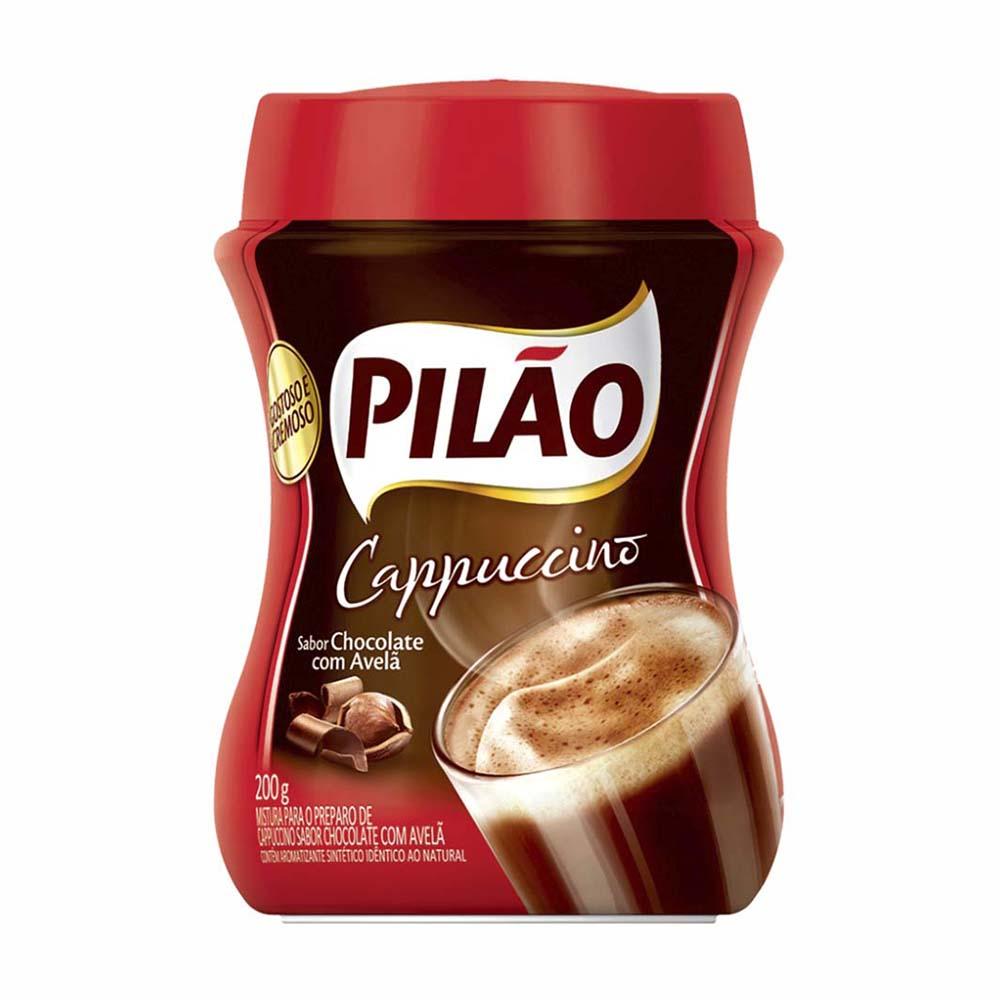 CAFE PILAO CAPPUCCINO CHOCO 200GR CX12