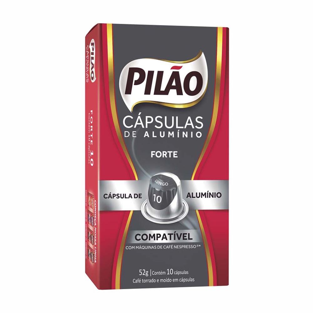 CAFE PILAO CAPSULA LUNGO 10 10X52GR CX10