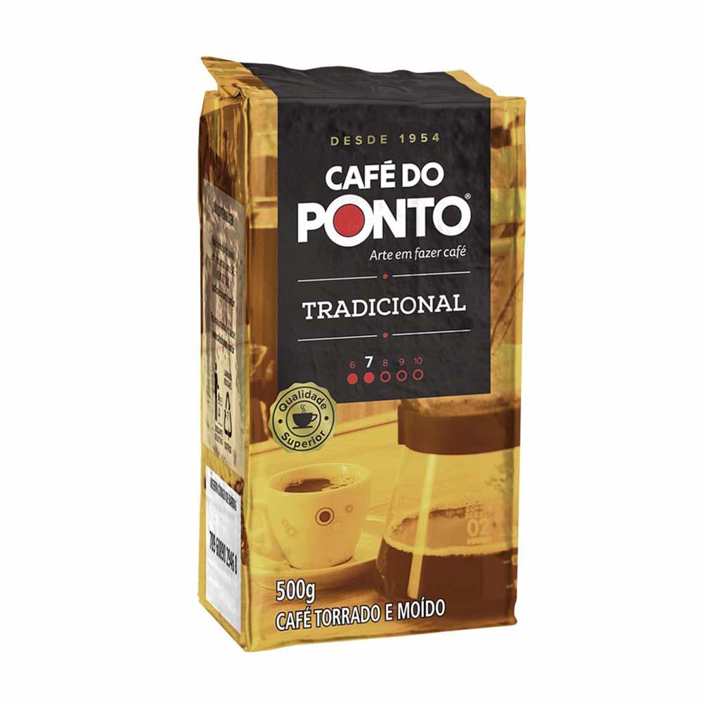 CAFE DO PONTO A VACUO TRAD 500GR CX/20