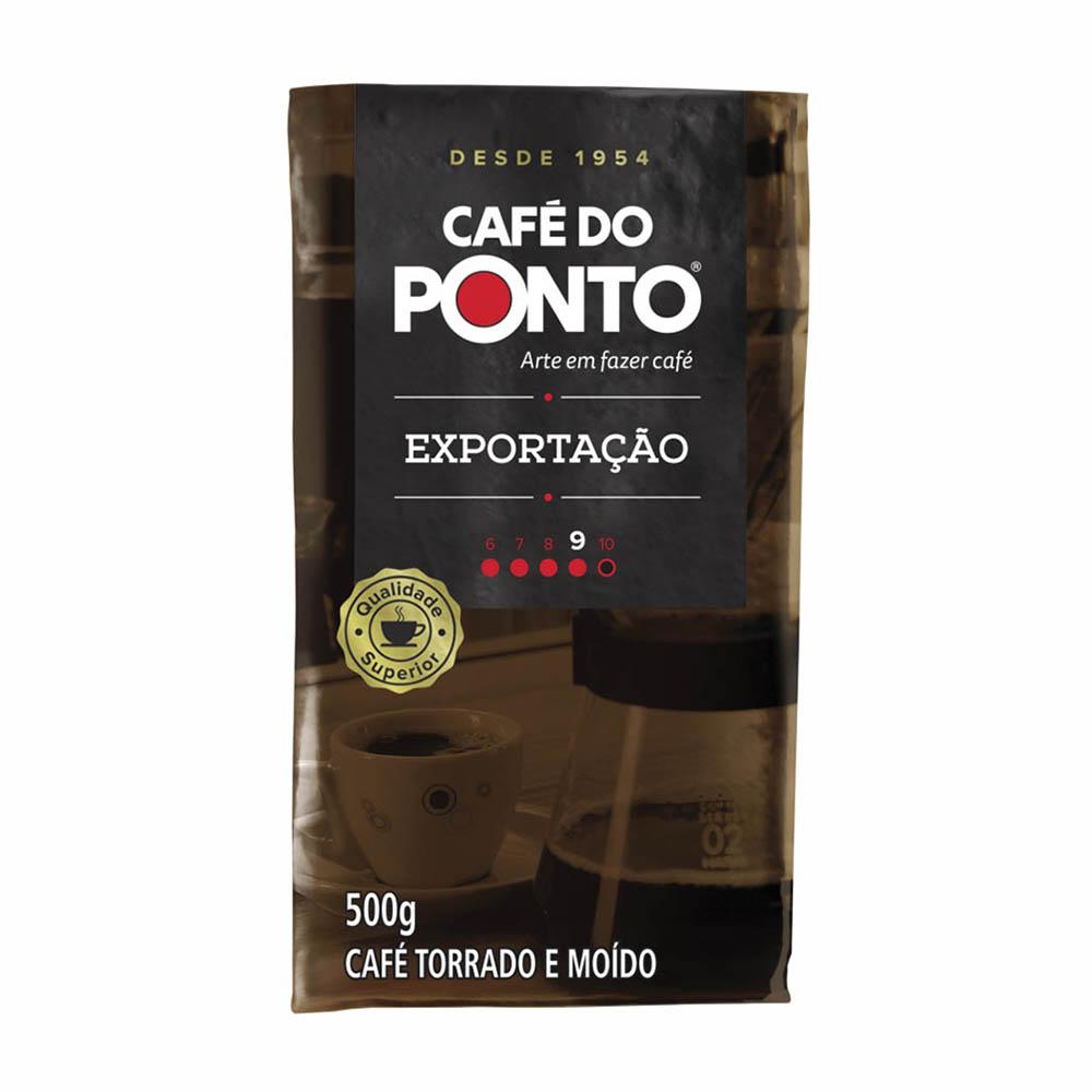 CAFE DO PONTO A VACUO EXPORT 500GR CX20
