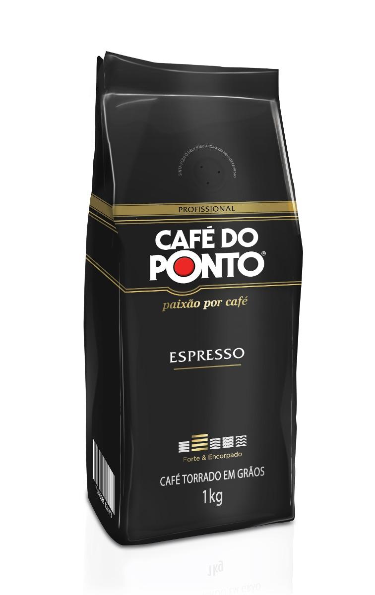 CAFE DO PONTO GRAO ESPRESSO 1KG CX/5