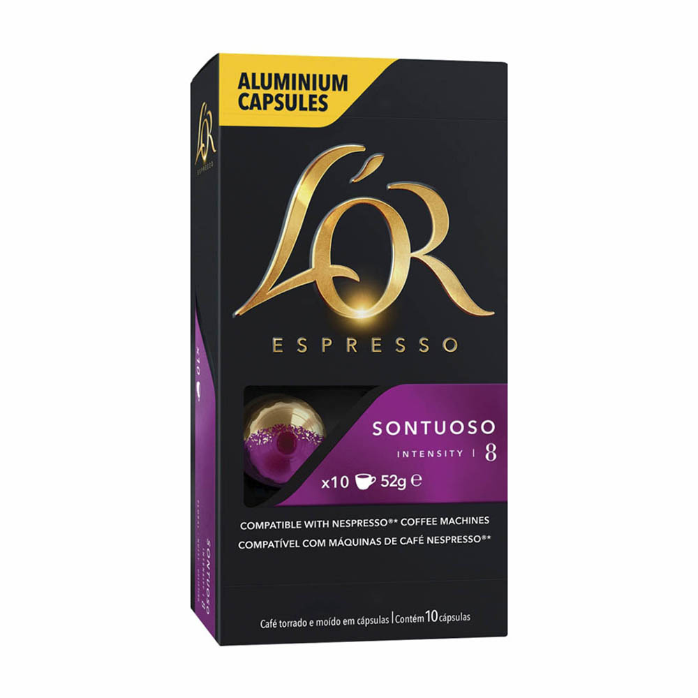 CAFE LOR CAPSULA SONTUOSO 10X52GR CX10