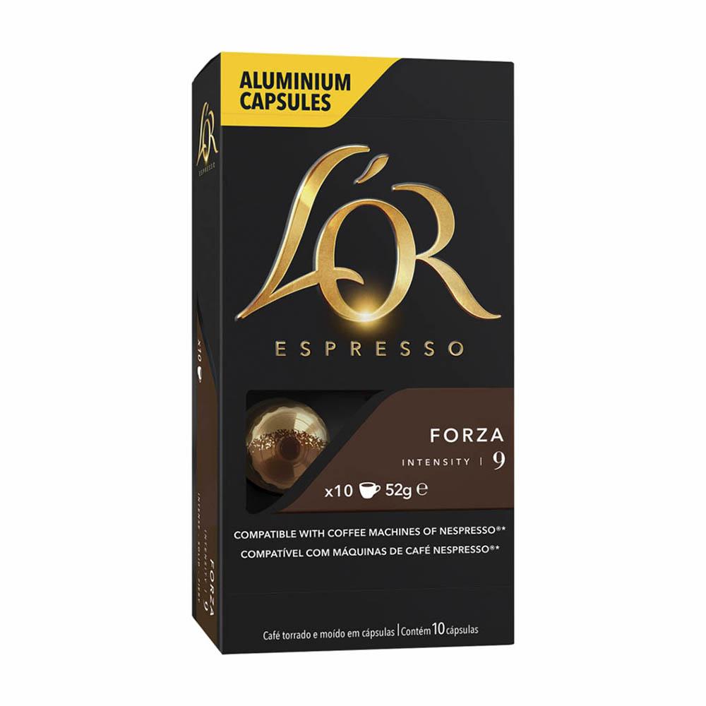 CAFE LOR CAPSULA FORZA 10X52GR CX10