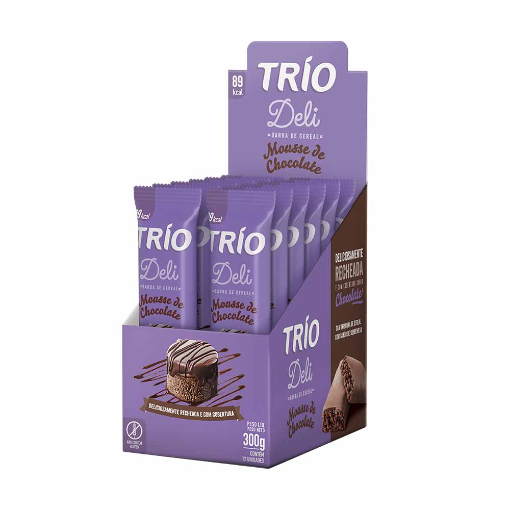 TRIO BARRA MOUSSE DE CHOCO DP3X20G CX/24