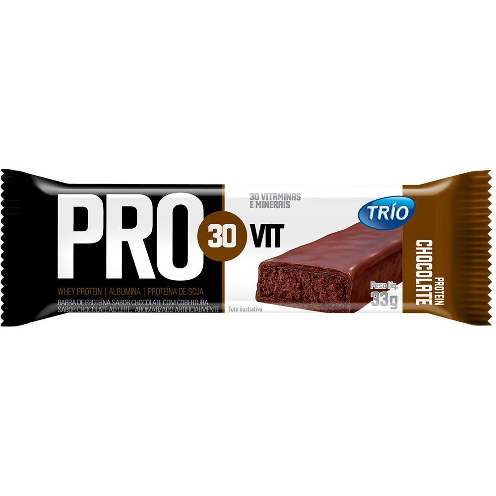 TRIO PRO30VIT CHOCOLATE  DP3X33G CX24