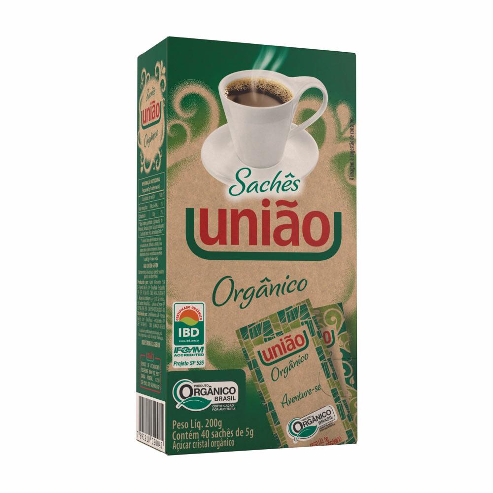 UNIAO ORGANICO SACHE 200G CX/12