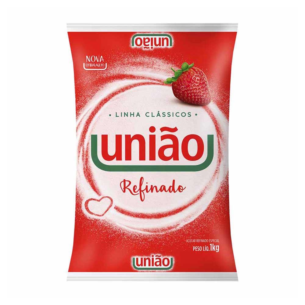 UNIAO ACUCAR REFINADO ESPECIAL 1KG CX/10