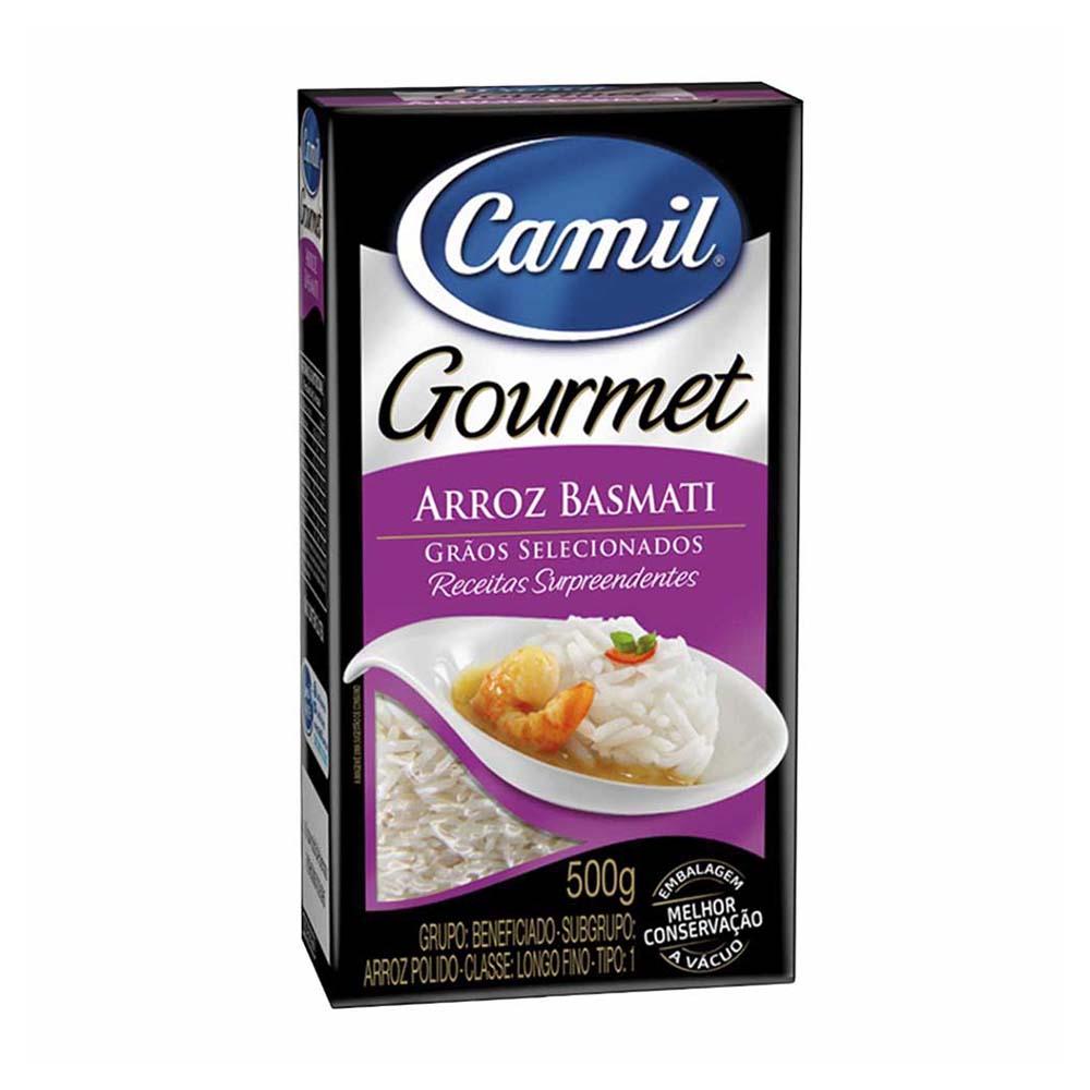 CAMIL ARROZ BASMATI GOURMET 500G  FD/12