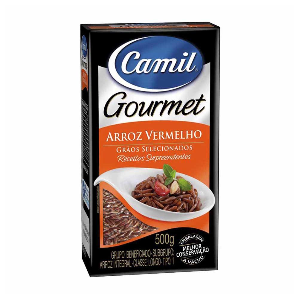 CAMIL ARROZ VERMELHO GOURMET 500G  FD/12