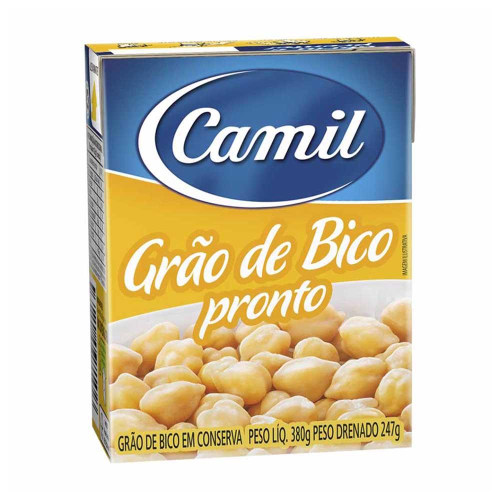 CAMIL GRAO DE BICO PRONTO 380 GR CX/18