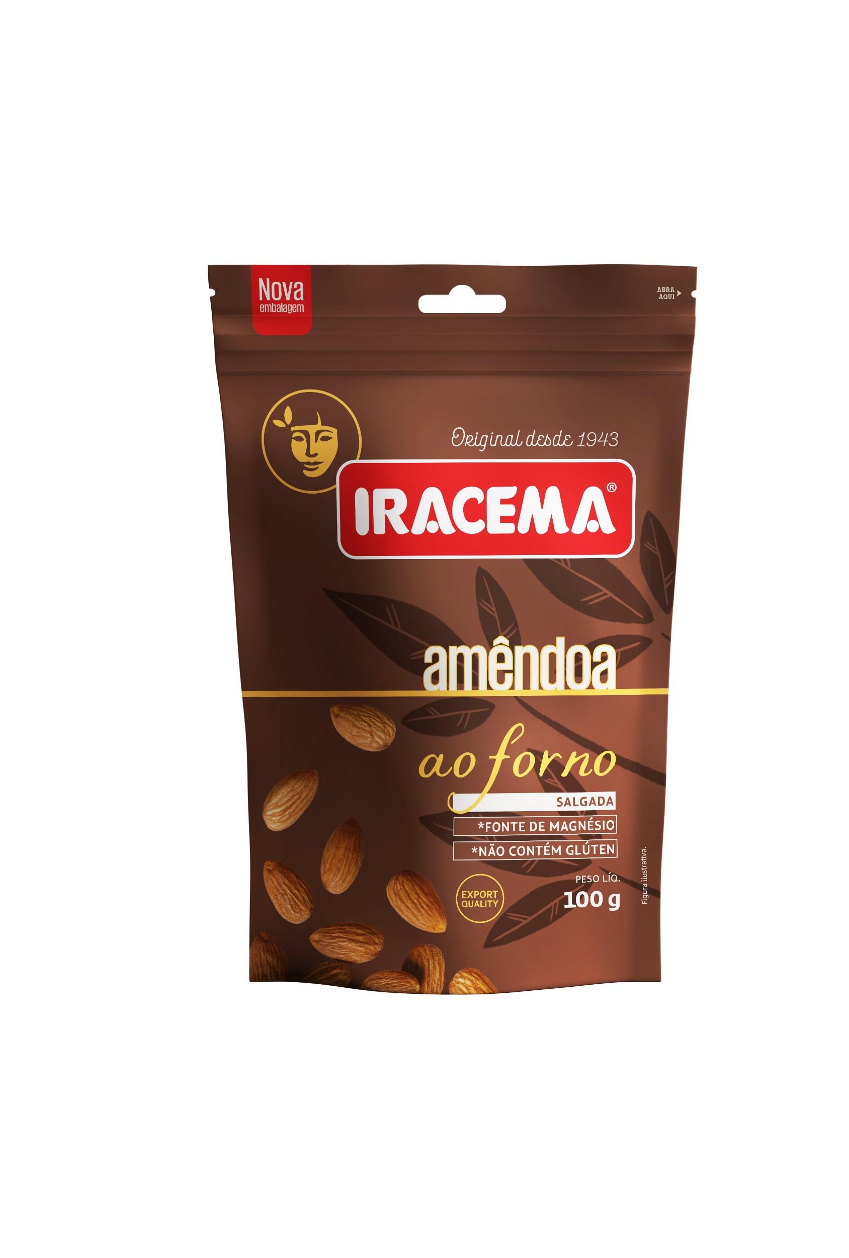 IRACEMA AMENDOA POUCH 100GR CX/24