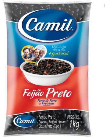 CAMIL FEIJAO PRETO  T1 1KG FD/10
