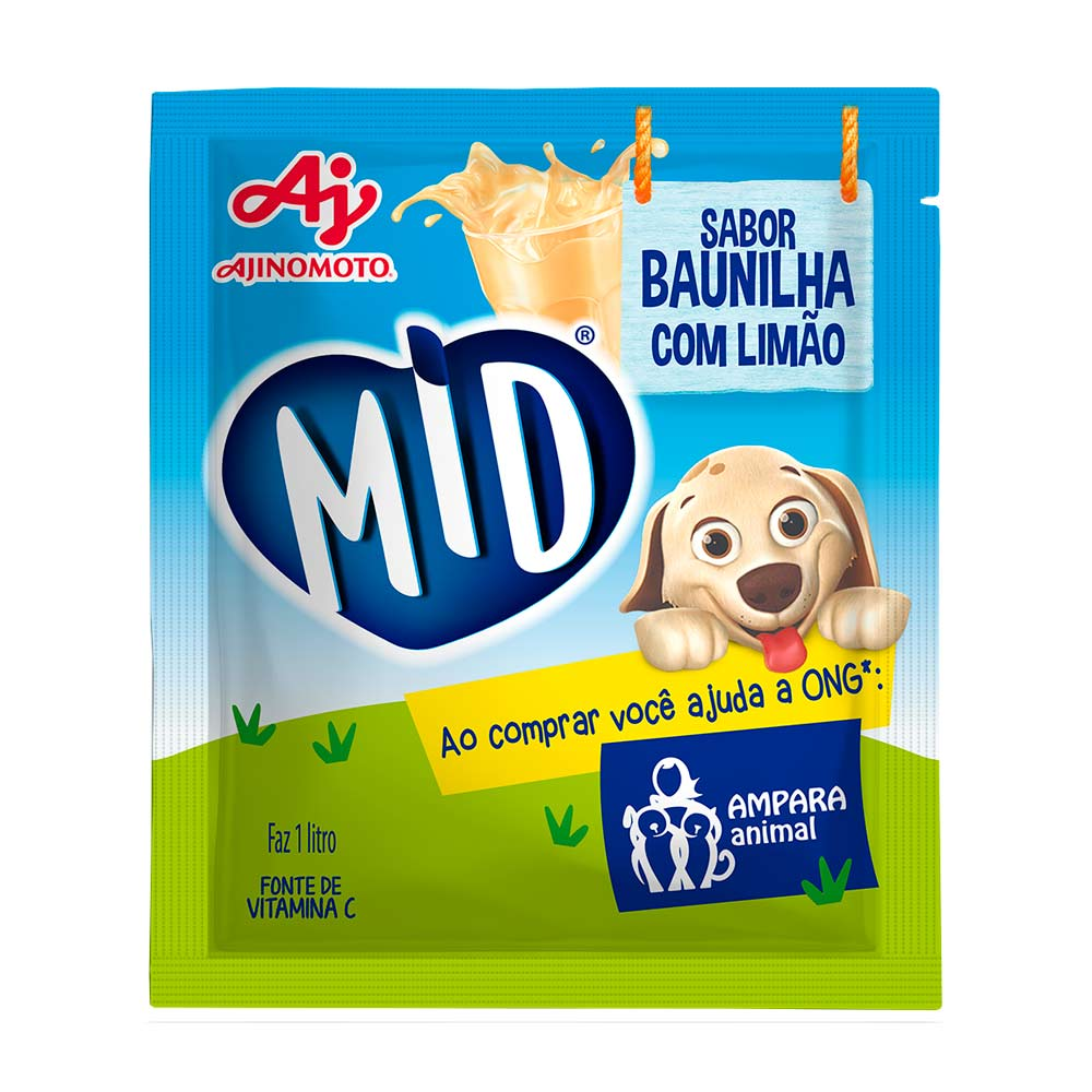 MID REF.  BAUNILHA C/ LIMÃO 15X20GR CX/8