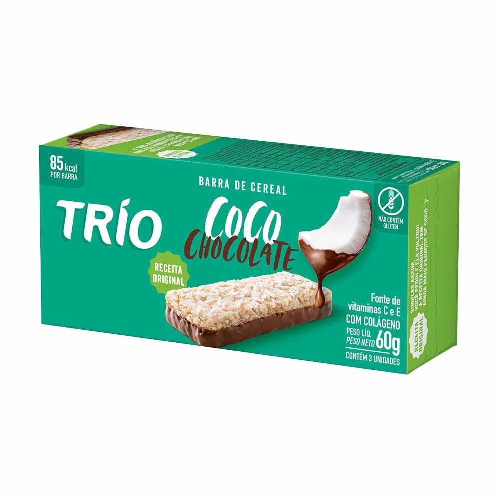 TRIO FLOWPACK COCO C/ CHOC CART3X20GCX24