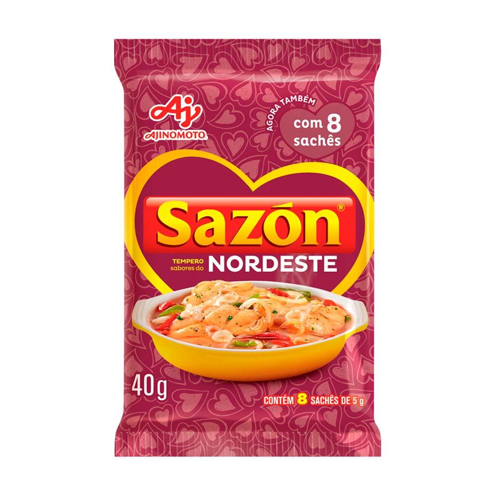 SAZON NORDESTE 40GR CX/48