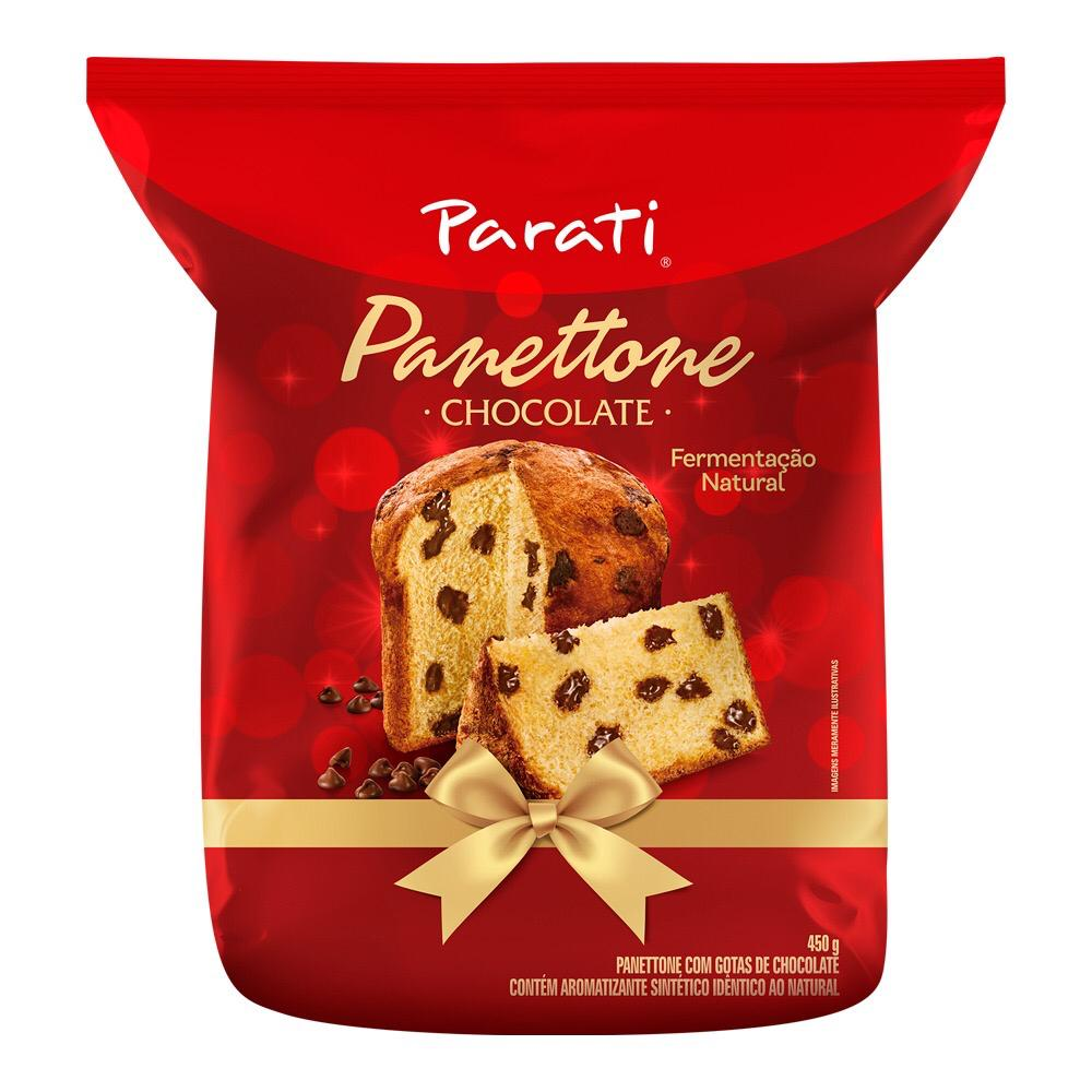 PARATI PANETTONE CHOCOLATE 450GR CX/8