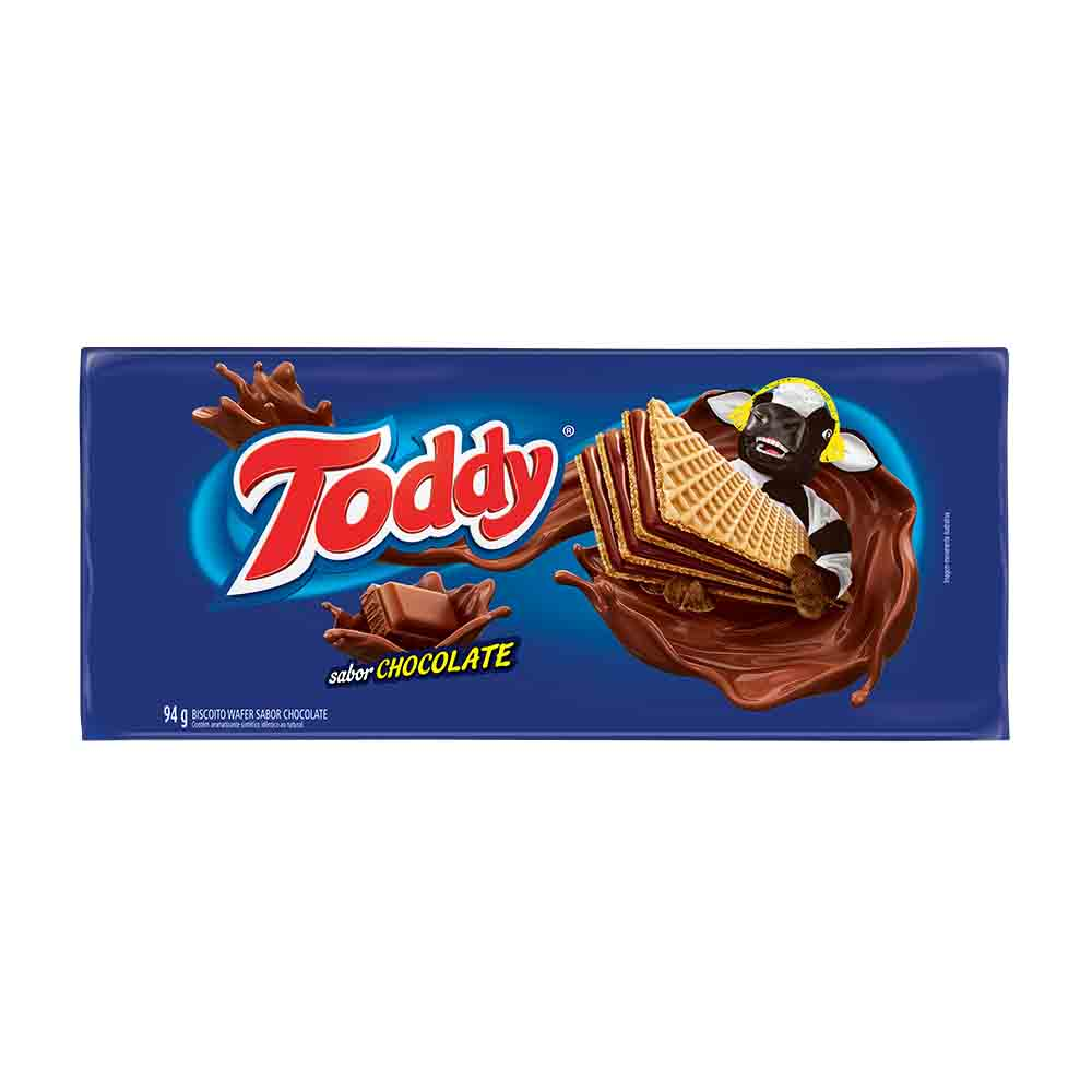 TODDY BISC WAFER CHOCOLATE 94GR CX/58