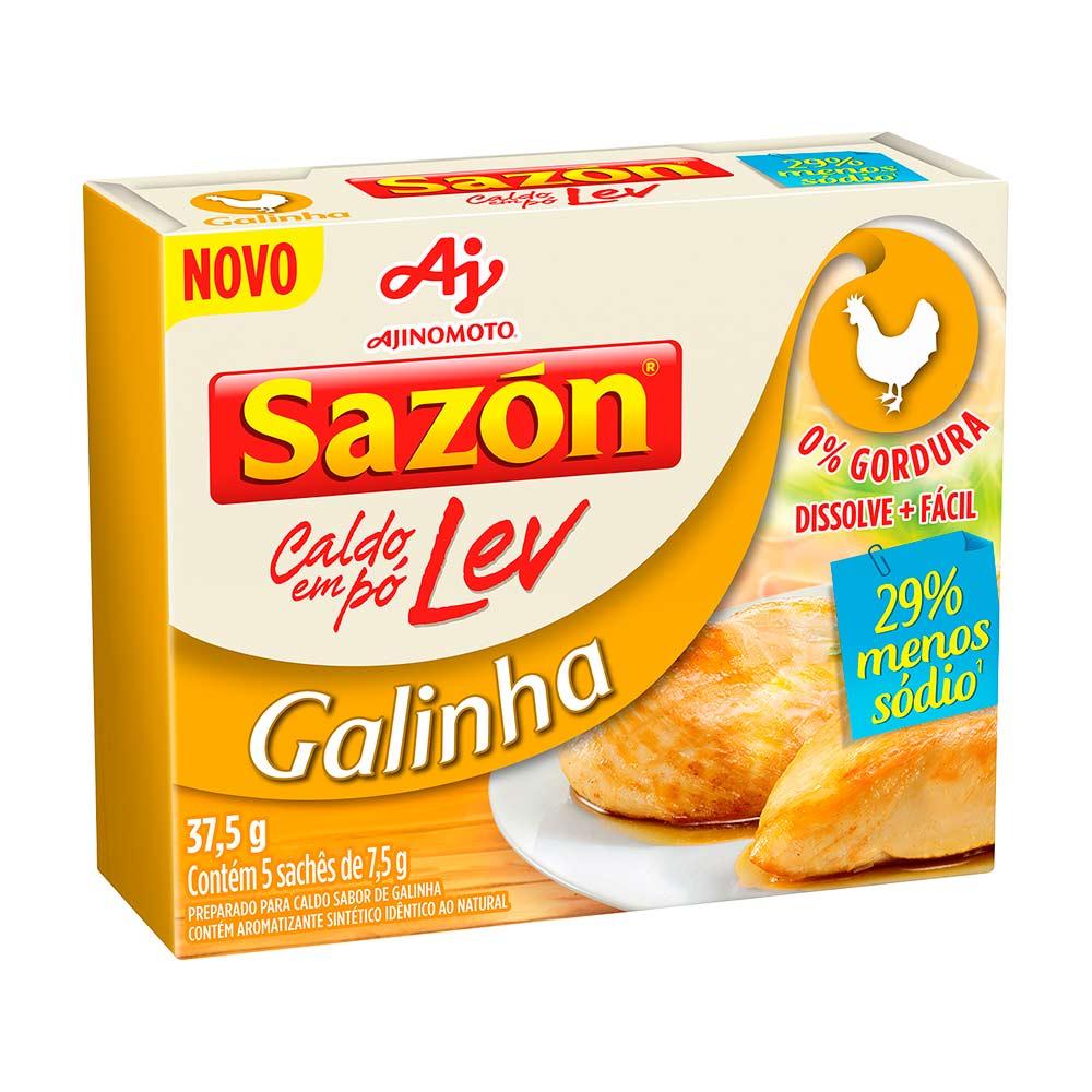 SAZON CALDO LEV GALINHA DP5X7,5GR CX/48