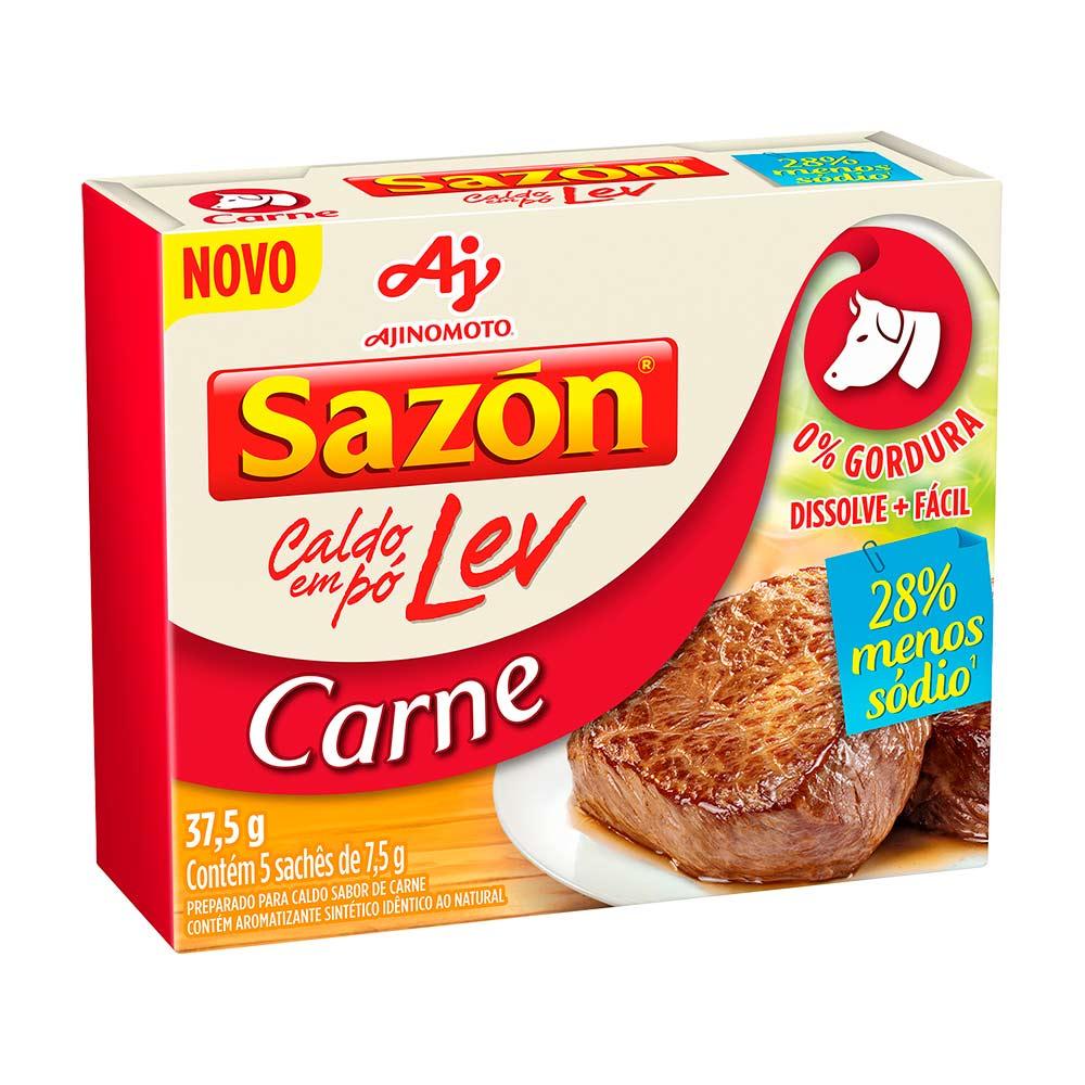 SAZON CALDO LEV CARNE DP5X7,5GR CX/48
