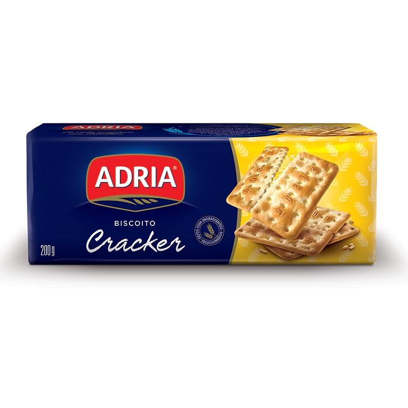 ADRIA CREAM CRACKER 200GR CX40