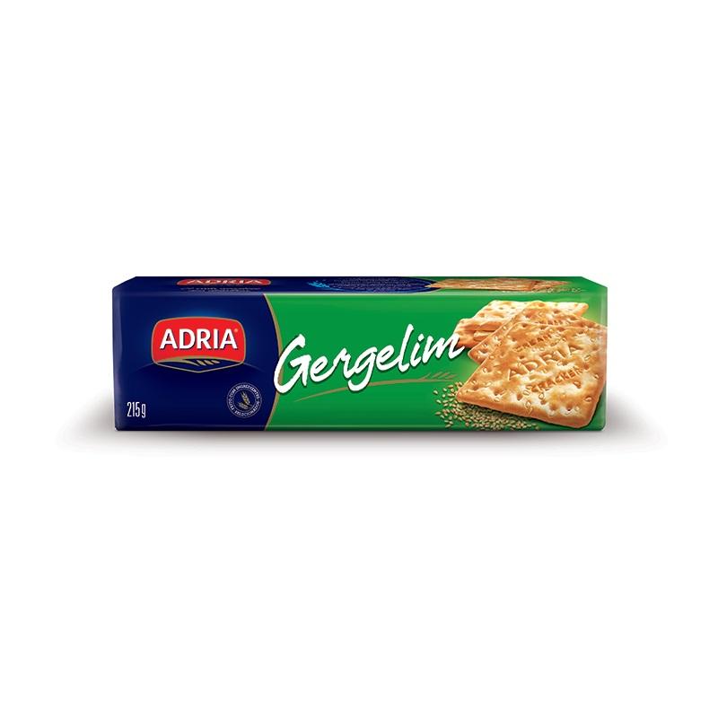 ADRIA CRACKER GERGELIM 215GR CX30