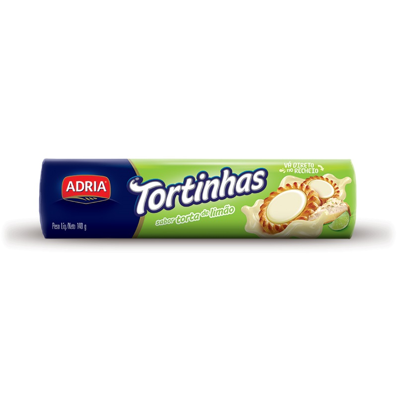 ADRIA TORTINHAS TORTA D LIMAO 140GR CX50