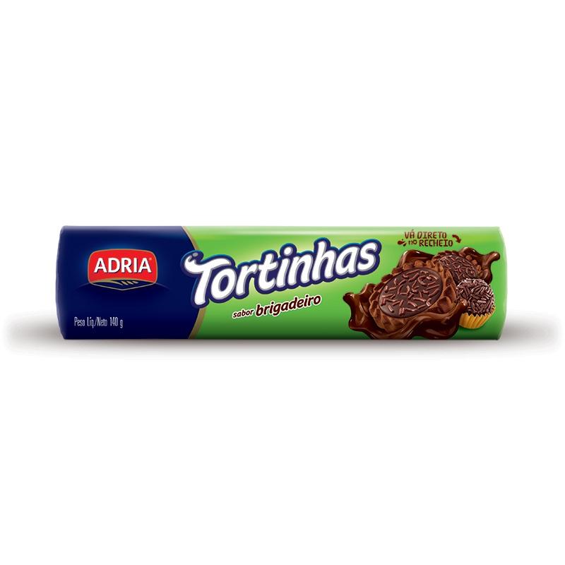 ADRIA TORTINHAS BRIGADEIRO 140GR CX50