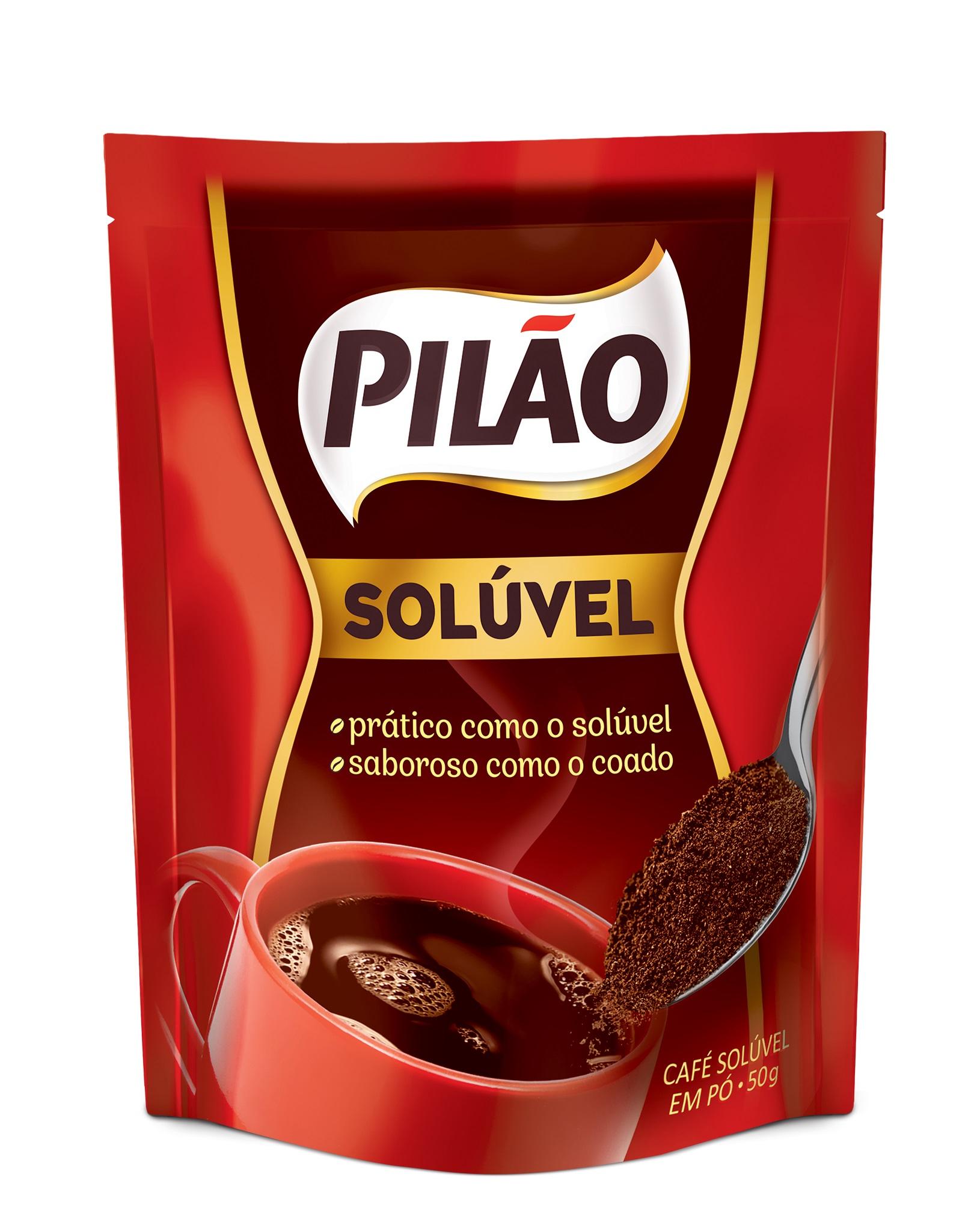 CAFE PILAO SOLUV COADO POUCH 50GR CX24