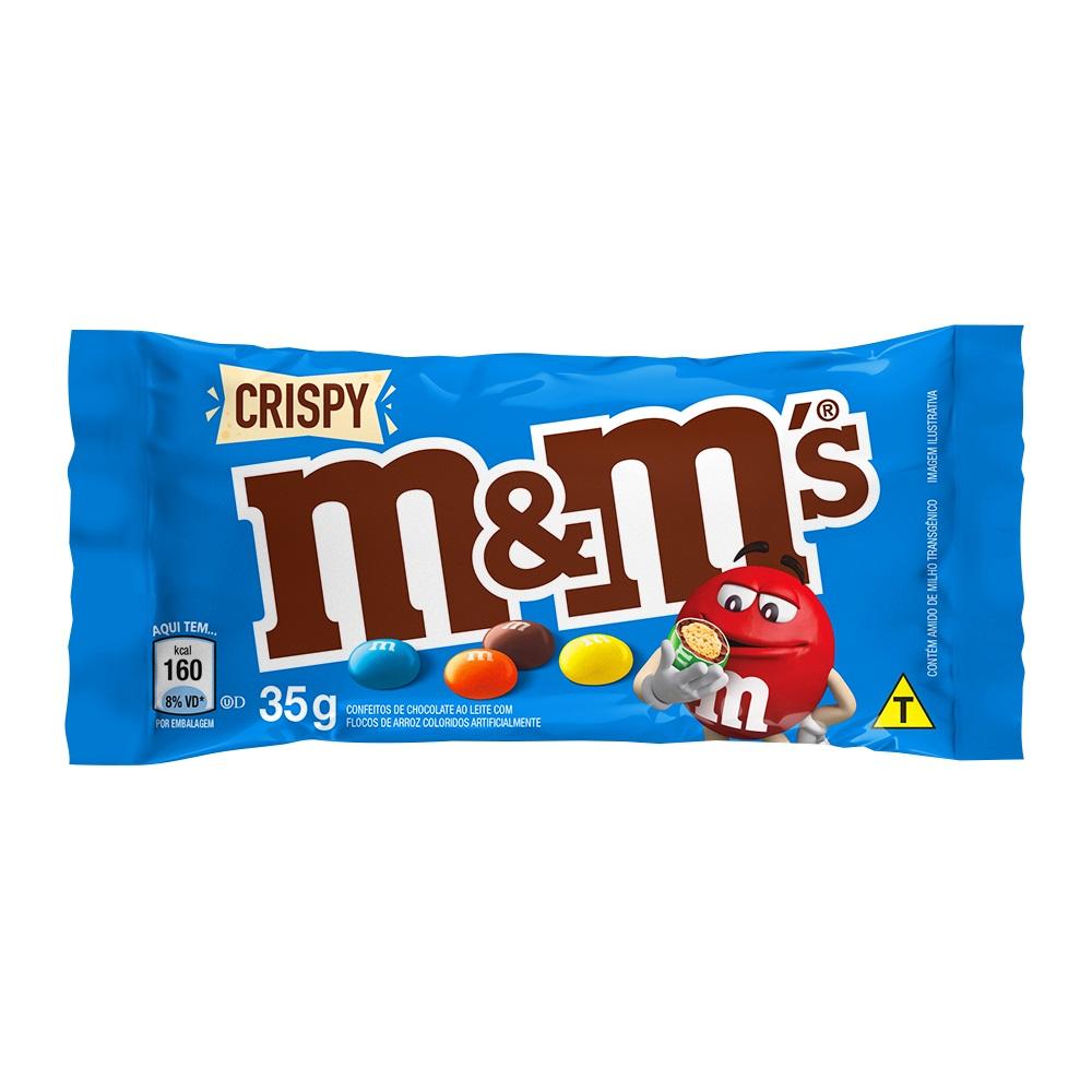 M&M CRISPY DP18X35G CX12