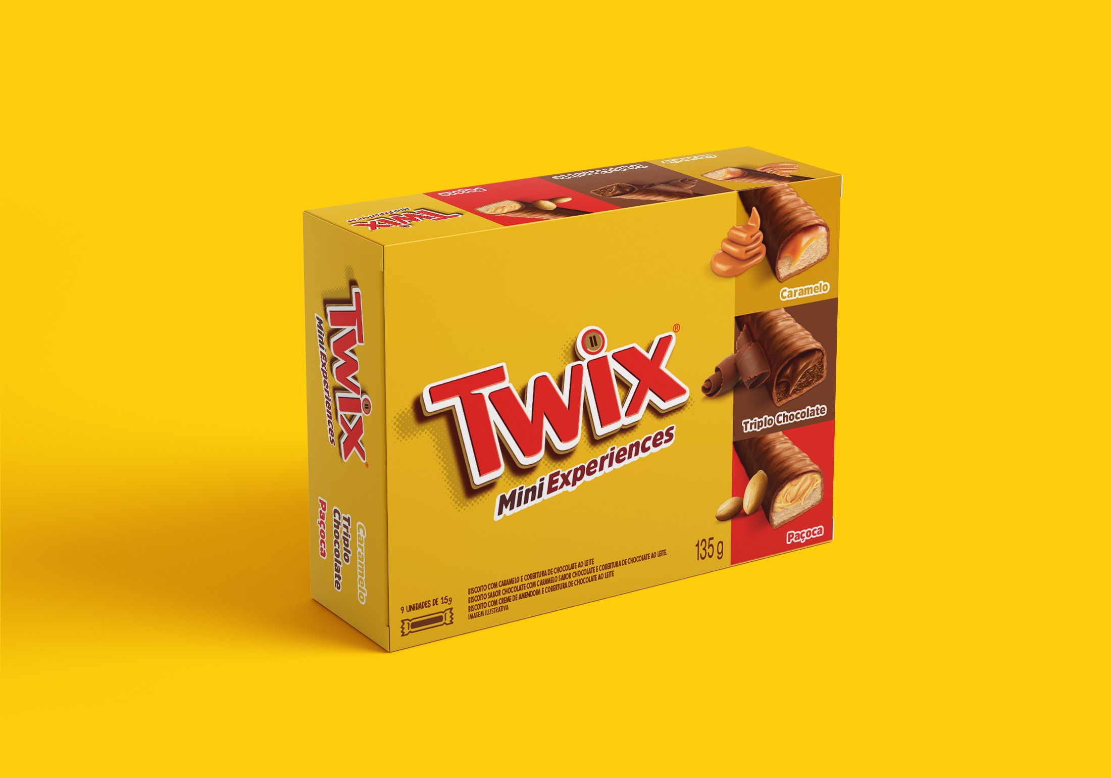 TWIX CAIXA SORTIDA 135G CX12
