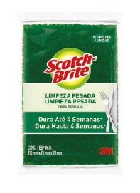 SCOTCH-BRITE LIMP PESADA PACK C10 CX12