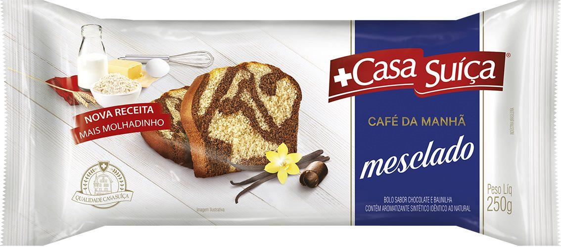 CASA SUICA CAFE DA MANHA MESCL 250G CX20