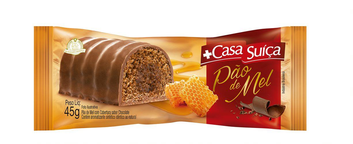 CASA SUICA PAO DE MEL DP15X45GR CX6
