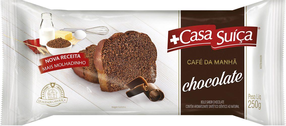 CASA SUICA CAFE DA MANHA CHOC 250G CX20