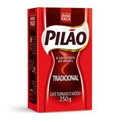 CAFE PILAO TRAD VACUO 250GR CX/20